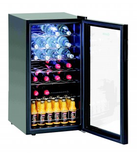 Réfrigérateur boissons 88L, 28Bl, porte verre BARTSCHER