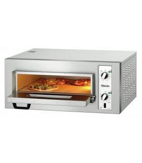 Four Pizza NT 501 BARTSCHER pizza en cours de cuisson porte ouverte