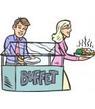 Buffet chaud