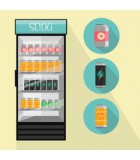 Matériel frigorifique CHR - vitrine d'impulsion d'achat - PROCUISSON